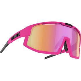 Bliz Vision M13 Glasses matt neon pink/brown with purple multi